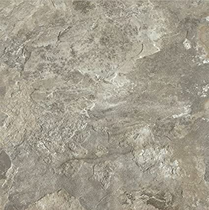 Armstrong FPD6113861 Mesa Stone Alterna Vinyl Tile Flooring Light Gray