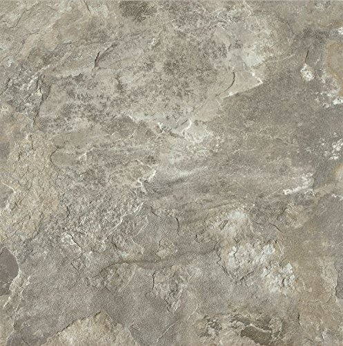 Armstrong FPD6113861 Mesa Stone Alterna Vinyl Tile Flooring, Light Gray