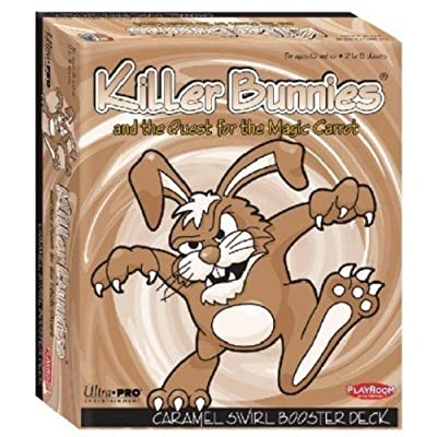 Playroom Entertainment Killer Bunnies & The Quest for The Magic Carrot CaramelSwirlBooster Deck Board Games: Toys & Games