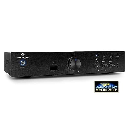 14 opinioni per auna AV2-CD508BT amplificatore Hi Fi (600 Watt, ingressi AUX e RCA per collegare