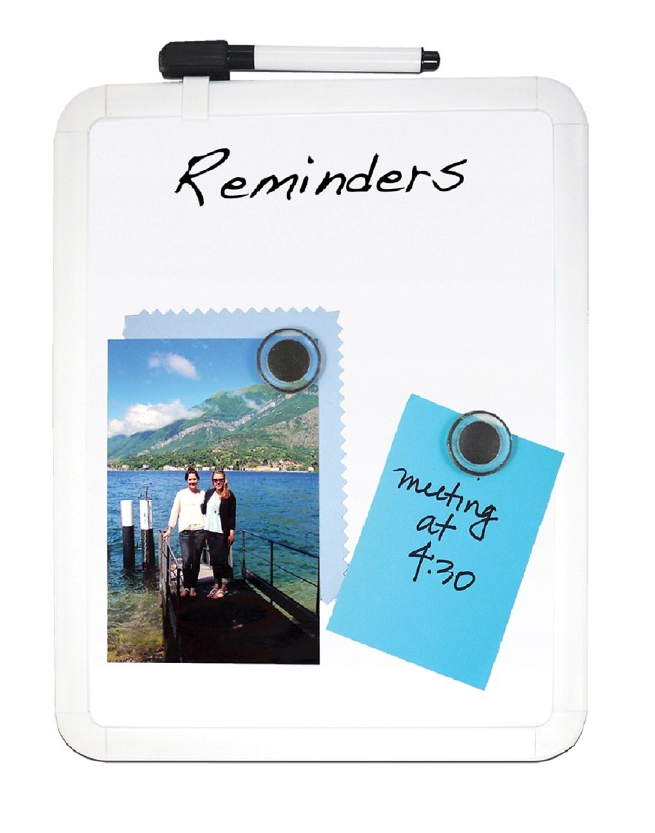 0259a081c58c hot sale Pack of 24 Magnetic Aluminum Framed Dry Erase Board (8.5 ...