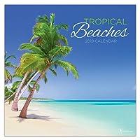 2019 Tropical Beaches Wall Calendar