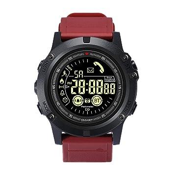 Reloj inteligente de negocios, cronómetro, deportivo, reloj de hombre, esfera luminosa,