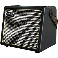 Coolmusic 30W Amplificador de guitarra acústica portátil con entrada de micrófono, Bluetooth integrado, rendimiento de…