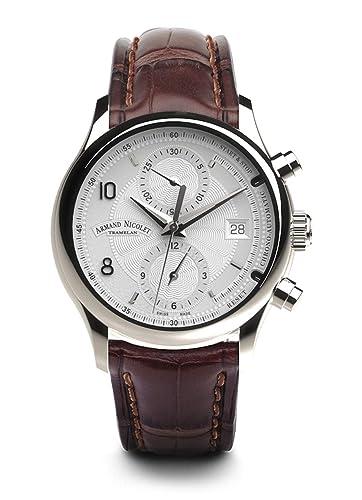 Armand Nicolet M02-4, Reloj de hombre - Cronógrafo y Fecha (analógico,