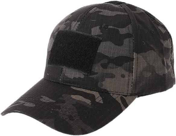 Rtengtunn Gorra táctica Militar de Camuflaje Gorra de béisbol del ejército Parche Digital Desert SWAT CP Caps - 1: Amazon.es: Hogar