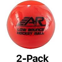 A&R Low Bounce Roller Floor Hockey Ball Orange
