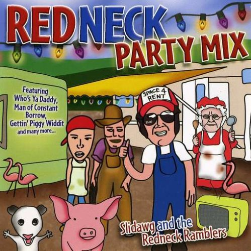 Slidawg the Redneck Ramblers Redneck Party Mix Amazon Music – Redneck Party Invitations