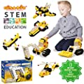 Click A Brick Mighty Machines 100pc Building Blocks Set Best Stem Toys For Boys Girls Age 5 6 7 Year Old Fun Kids 3d Construction Puzzle Top Educational Learning Gift For Children Ages 5 10