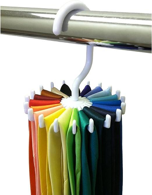 Pixnor Percha para corbatas Soporte multifunción ajustable ...