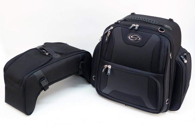Saddlemen FTB3600 Sport Sissy Bar and Combo Bag 3515-0142