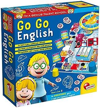 Lisciani 48892 Go Go English - Juego de preguntas y respuestas para aprender Ingles: Amazon.es: Juguetes y juegos