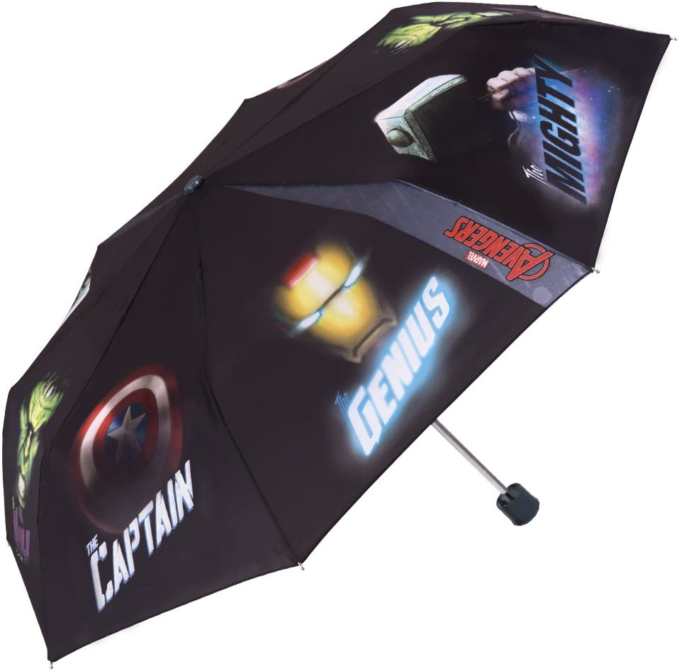 Paraguas Plegable para Niño Marvel Los Vengadores - Mini Paraguas ...