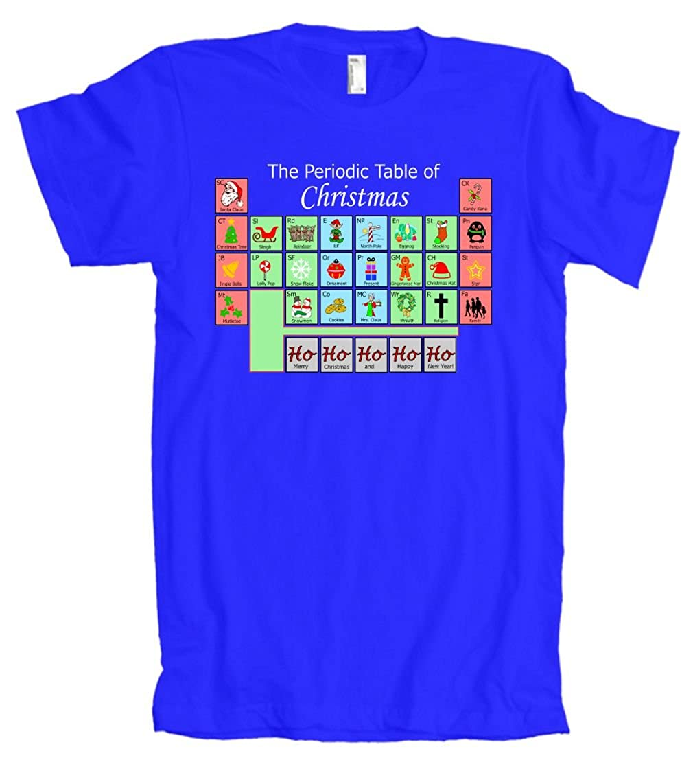 Amazon american apparel the periodic table of christmas amazon american apparel the periodic table of christmas elements t shirt clothing urtaz Image collections