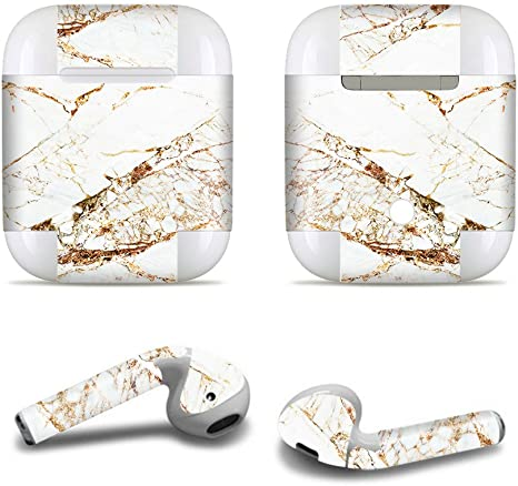 Amazon Com Earphones Decal Sticker For Airpods 2 1 With