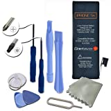 iPhone 5s / 5c Battery Replacement : New Zero Cycle 1558mAh 3.8V Li-Ion Battery Replacement for iPhone 5s and iPhone 5c with Complete Tool Kit