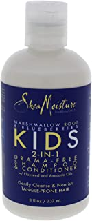 product image for Shea Moisture Marshmallow Root and Blueberries Kids 2-in-1 Shampoo and Conditioner for Unisex, 8 Ounce