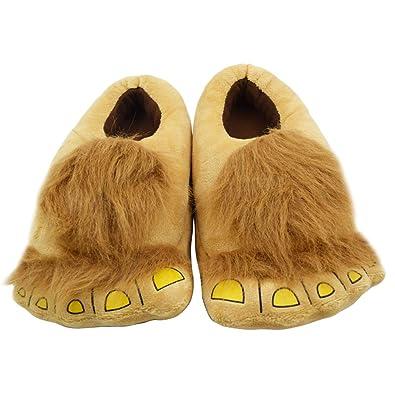 075ecc99aa4 Geekbuzz Kids Furry Monster Adventure Slippers