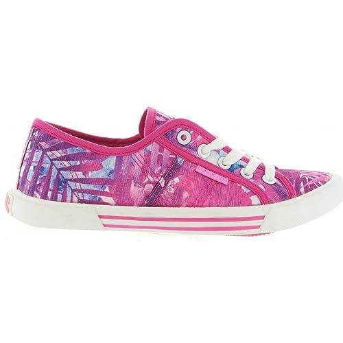 Deportivas de Mujer LOIS JEANS 61020 Fuxia: Amazon.es: Zapatos y complementos