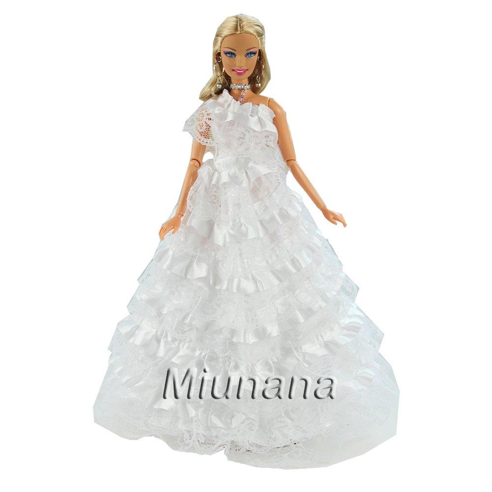 5599717db Amazon.es  Miunana 1 Vestido de Novia con Multicapa Ropa Princesa Vestir  Boda para