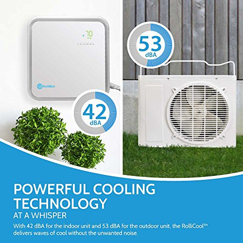 App Enabled Rollicool Ductless Mini Split Air Conditioner
