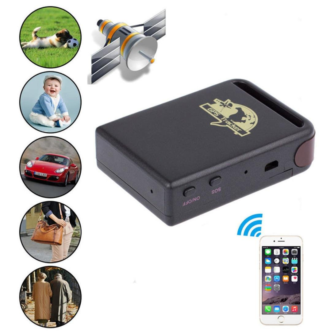 Amazon.com: GBSELL Mini Vehicle GSM GPRS GPS Tracker Car Vehicle Tracking  Locator TK102B: GPS & Navigation