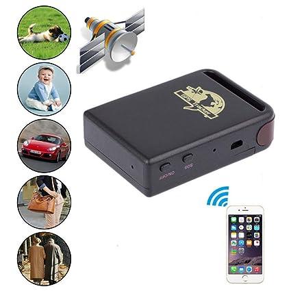 Track My Car >> Amazon Com Gbsell Mini Vehicle Gsm Gprs Gps Tracker Car Vehicle