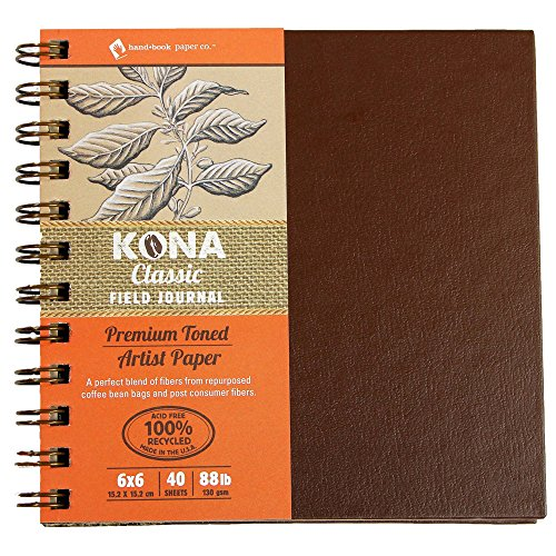 eries Wiro Hard Covered Journals - 130gsm (88lb) - 6