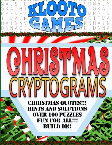 - KLOOTO Games CHRISTMAS CRYPTOGRAMS
