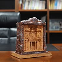 Petra Ancient City Sculpture Famous Architectural Model Suitable for Living Room/Office/Gift/Souvenir