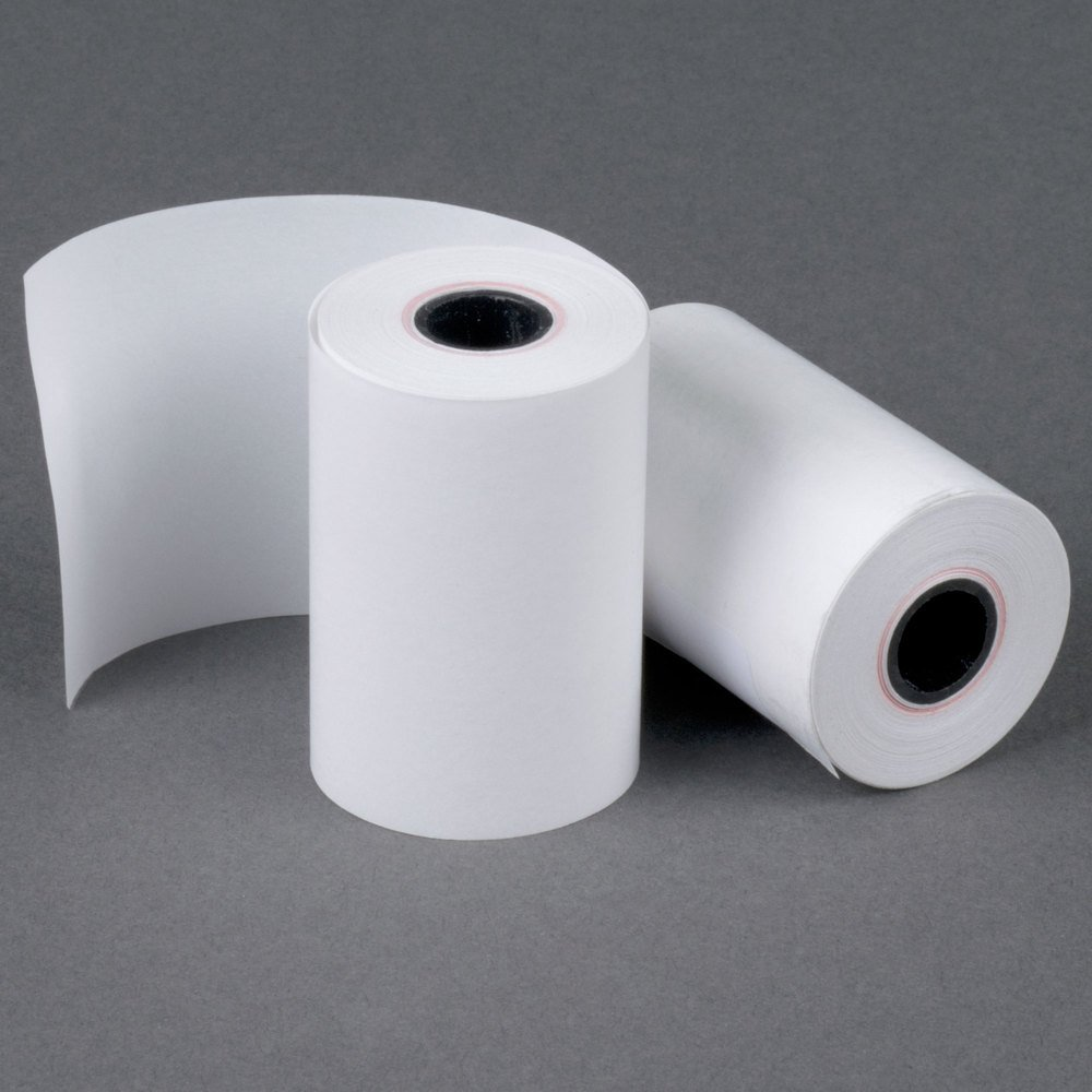 2 1//4 x 50 Thermal Paper 100 Rolls BPA Free Made in USA From BuyRegisterRolls