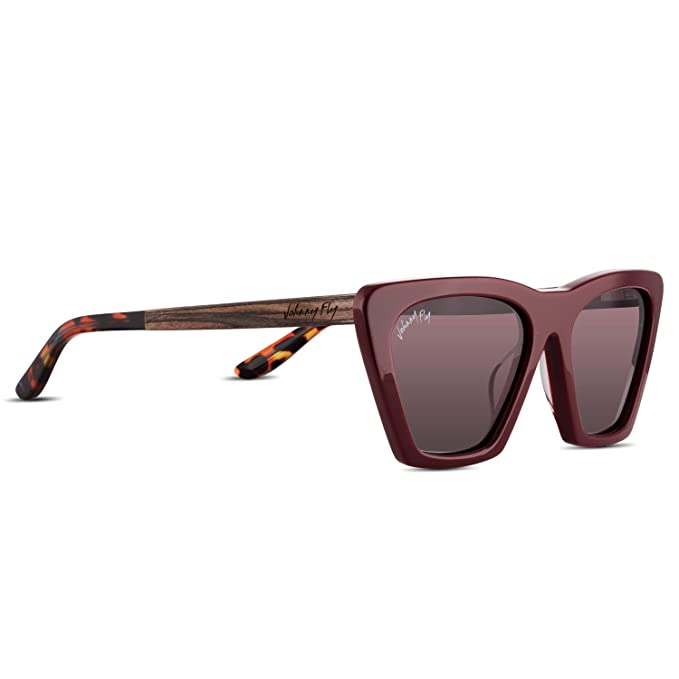 Figure Acetate Wooden Sunglasses