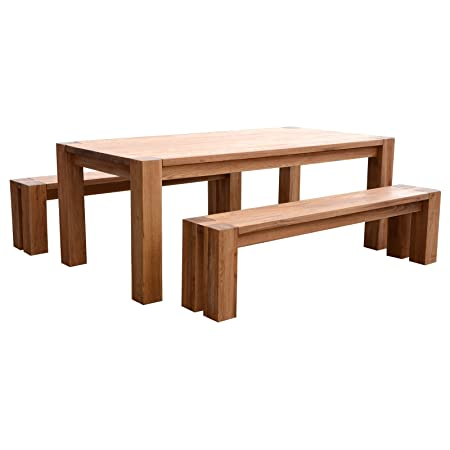 Stupendous Braemar Rectangular Oak Wood Dining Kitchen Table Furniture Lamtechconsult Wood Chair Design Ideas Lamtechconsultcom