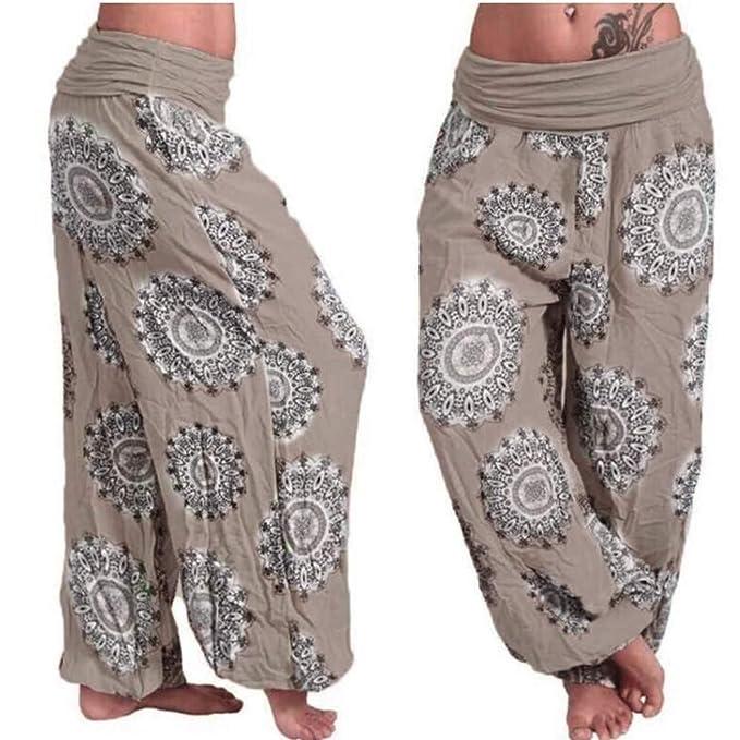 Xinantime Pantalones harén Mujeres, Pantalones de Cuerpo ...