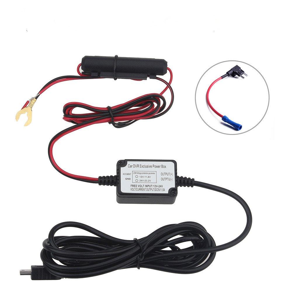 Amazon.com: VIOFO Original Car Dash Camera Hardwire + Fuse Kit For VIOFO  A119 A119S A118 A118C A118C2 Mini DVR Recorder: Car Electronics