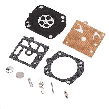 Qii lu Kit de carburador, kit de junta de diafragma de reparación ...