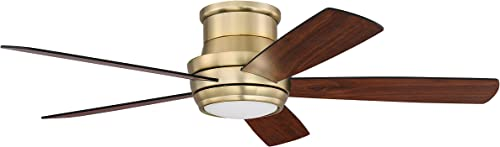 Craftmade TMPH52SB5 Tempo Hugger 52″ Ceiling Fan