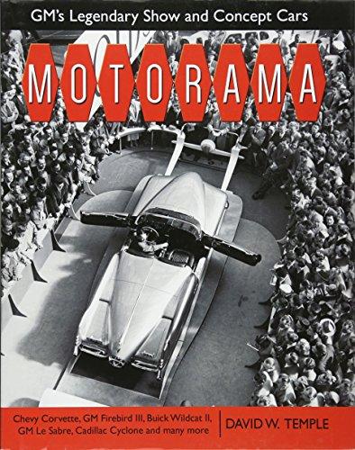Motorama: GM's Legendary Show & Concept Cars (Cartech) (Contemporary Pillar Designs)