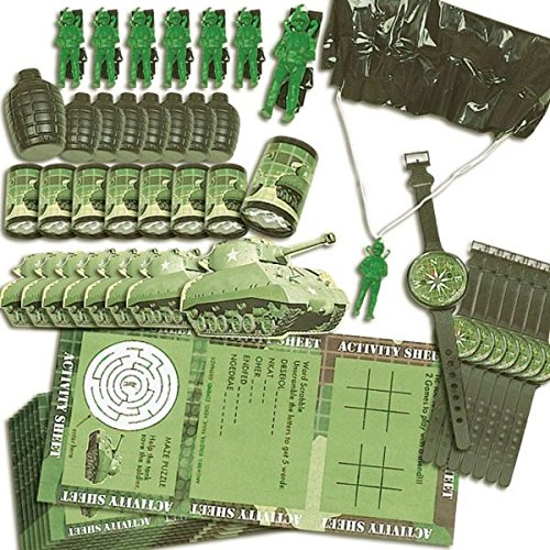 Camouflage Favor Value Pack, Party Favor -