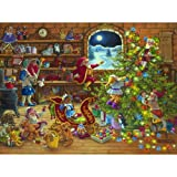 SunsOut Countdown to Christmas 1000pc Jigsaw Puzzle by Janet Kruskamp