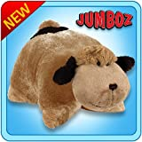 Pillow Pets Jumboz Snuggly Puppy - Jumbo Plush Puppy Stuffed Animal Pillow