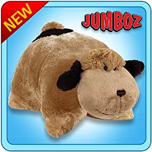 Amazon.com: Pillow Pets Jumboz Snuggly Puppy Floor Pillow - Jumbo Plush Puppy Stuffed Animal ...