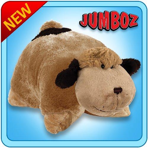 Pillow Pets Authentic 30quot Snuggly Puppy Folding Plush Pet Jumbo