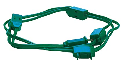 Woods Extension Cord For Christmas Or Holiday Lights With 9 Outlets ...