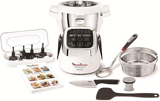 Moulinex Cuisine Companion XL HF8058 Robot cocina 6 programas, 4.5 ...