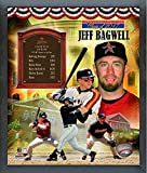 "Jeff Bagwell Houston Astros Hall of Fame Legends Composite Photo (Size: 12"" x 15"") Framed"