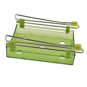 Estante Bandeja para Nevera Refrigerador Congelador Protector (Verde)