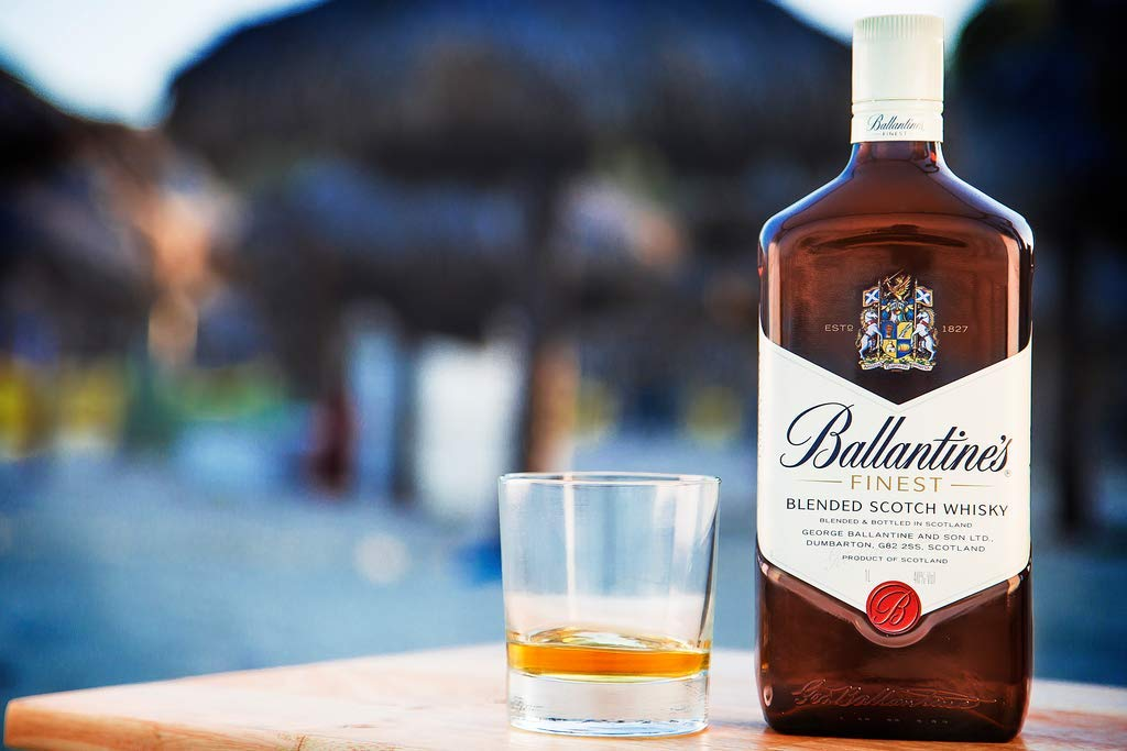Whisky Ballantines Finest Blended Scotch 70cl: Amazon.es: Alimentación y bebidas