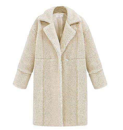 ZKOO Chaqueta de Invierno para Mujer Abrigo Chaqueta Parka de Manga Larga Jacket Outwear