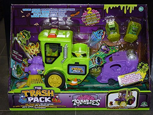 Catcher Truck - The Trash Pack Zombie Catcher Truck by The Trash Pack